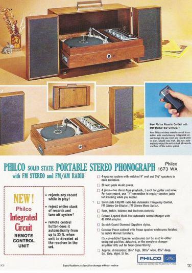 philco stereo 1967